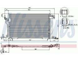 Condenseur clim 306 s16...