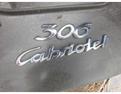 """logo 306 """"cabriolet"""""""